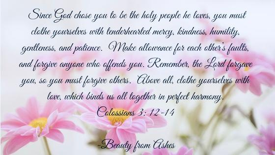 colossians 3, 12-14