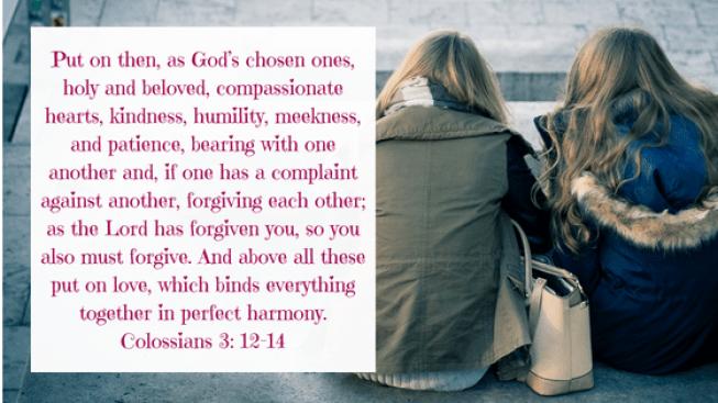 Colossians 3, 12-14