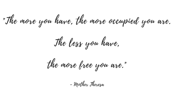 The more you have