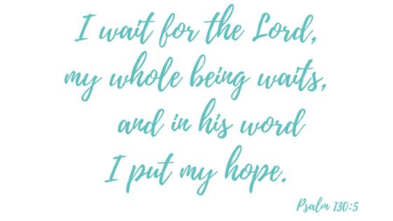 Psalm 130, 5