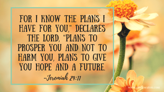 Jeremiah 29, 11