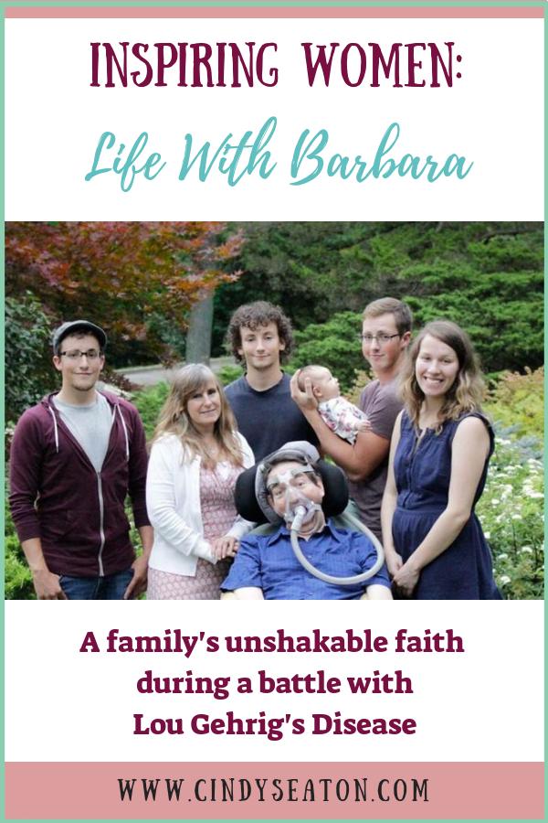 Inspiring Women: Life With Barbara