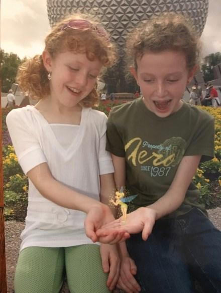 Gayle and Jillian at Disney World