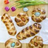Italian Easter Bread made with healthy alternatives