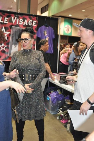 Michelle VIsage - she had a nonstop line so I didn't want to interrupt