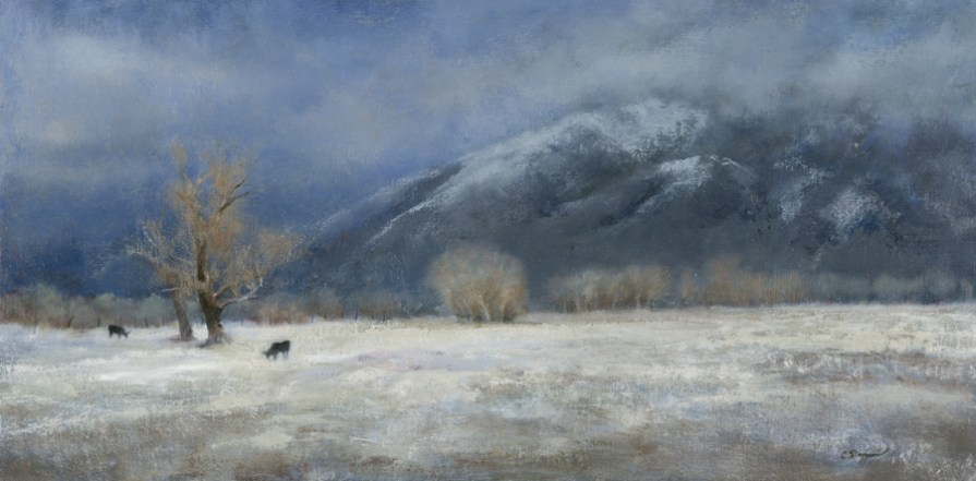 Taos Mountain Winter (SOLD)