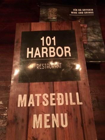 101 Harbor restaurant