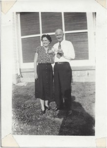 Cindy Thomson's grandparents
