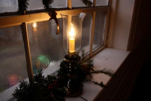 Irish Candle in the Window