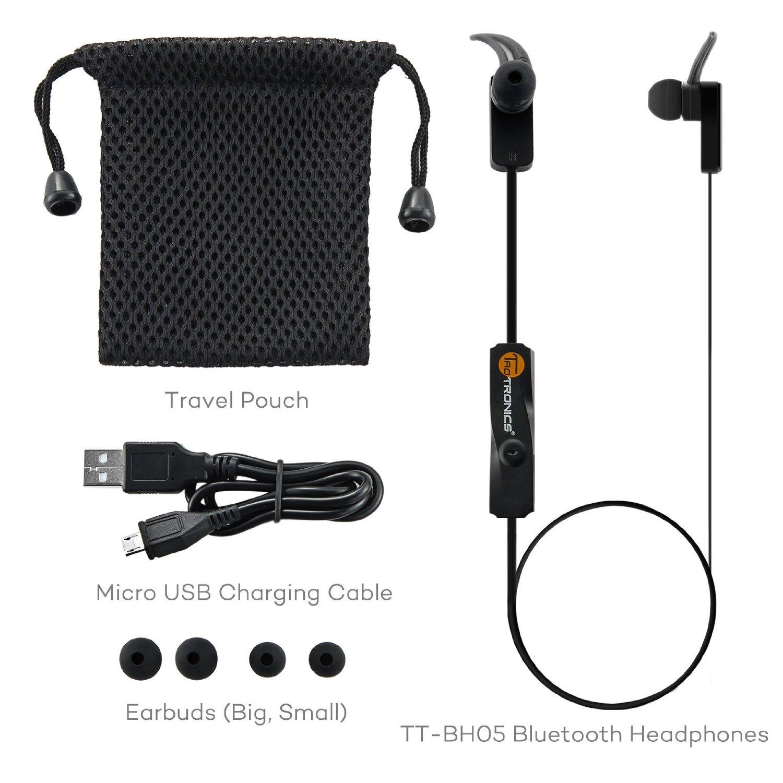 Taotronics Tt Bh05 Bluetooth 4 0 Wireless Stero Heaset