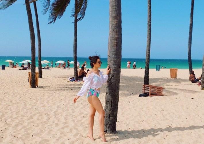 Beach days in Havana Cuba