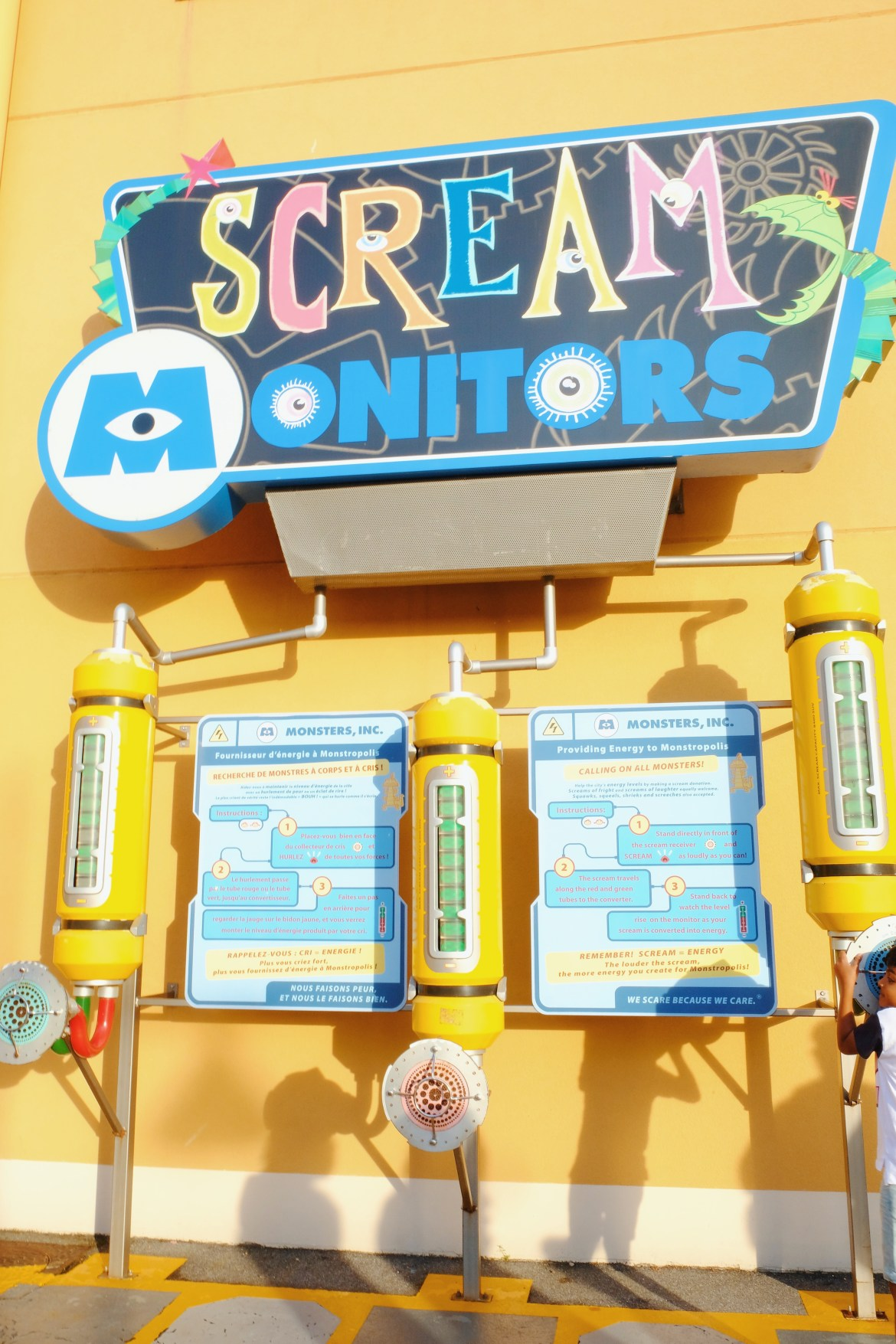 Disney scream monitors monters inc