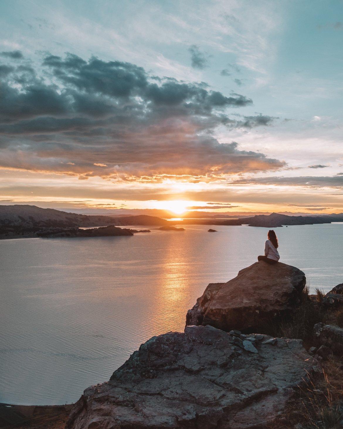 Titicaca sunset