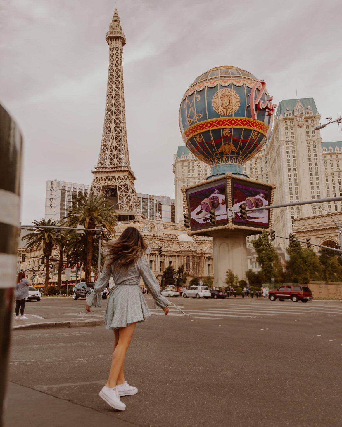 Las Vegas Eiffel Tower - Nevada & Arizona road trip guide and itinerary