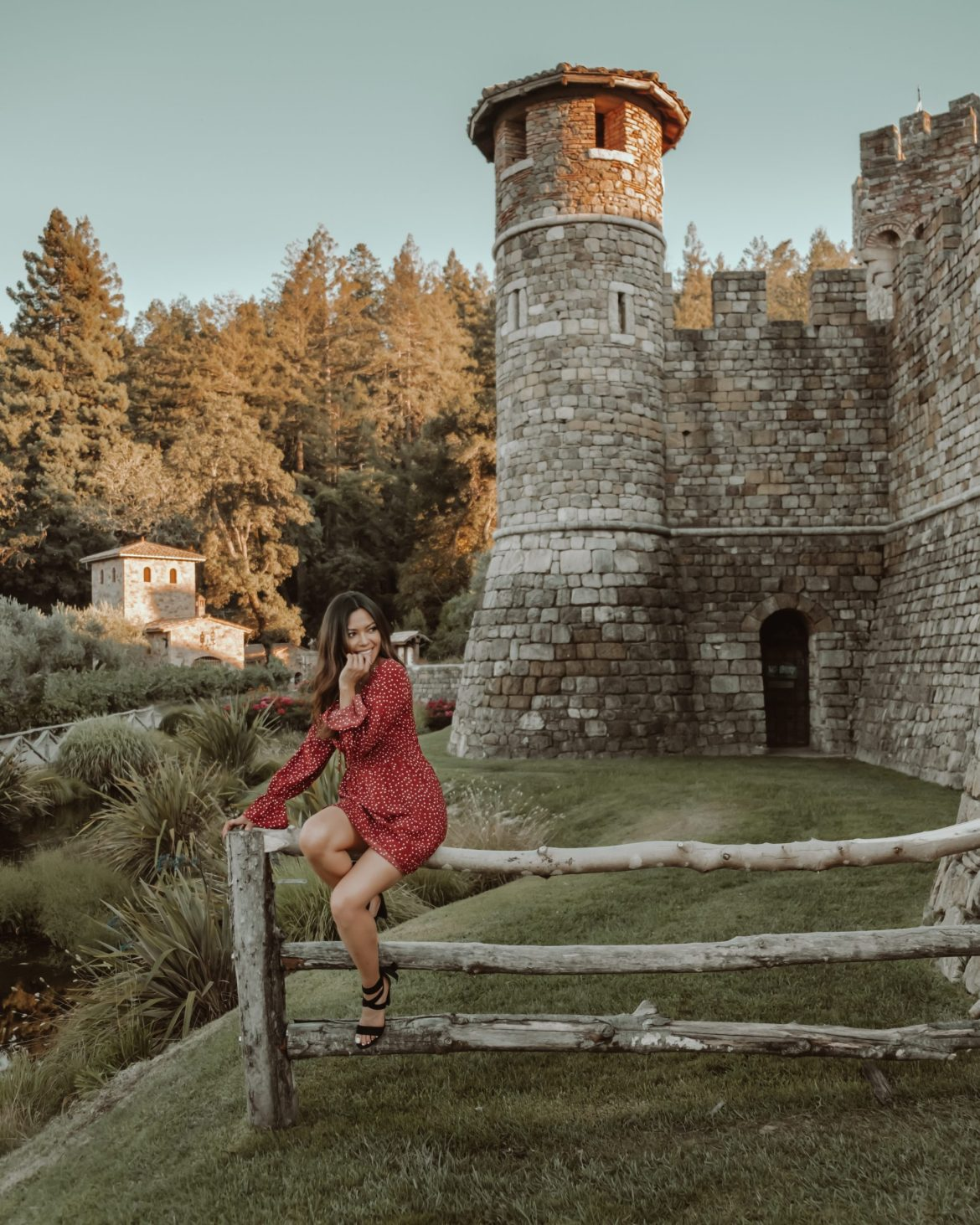 Napa Valley castle in California - 16 places to to visit in California