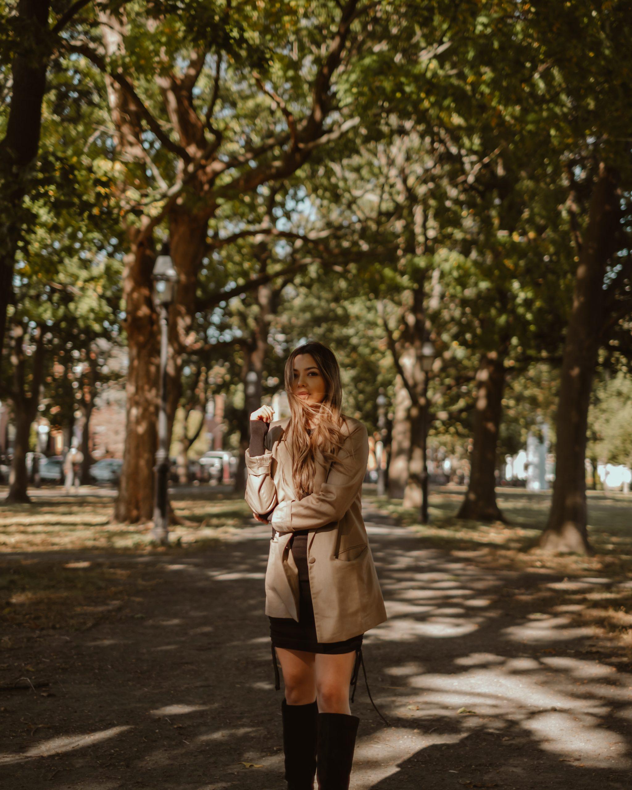 strolling through Salem Common
