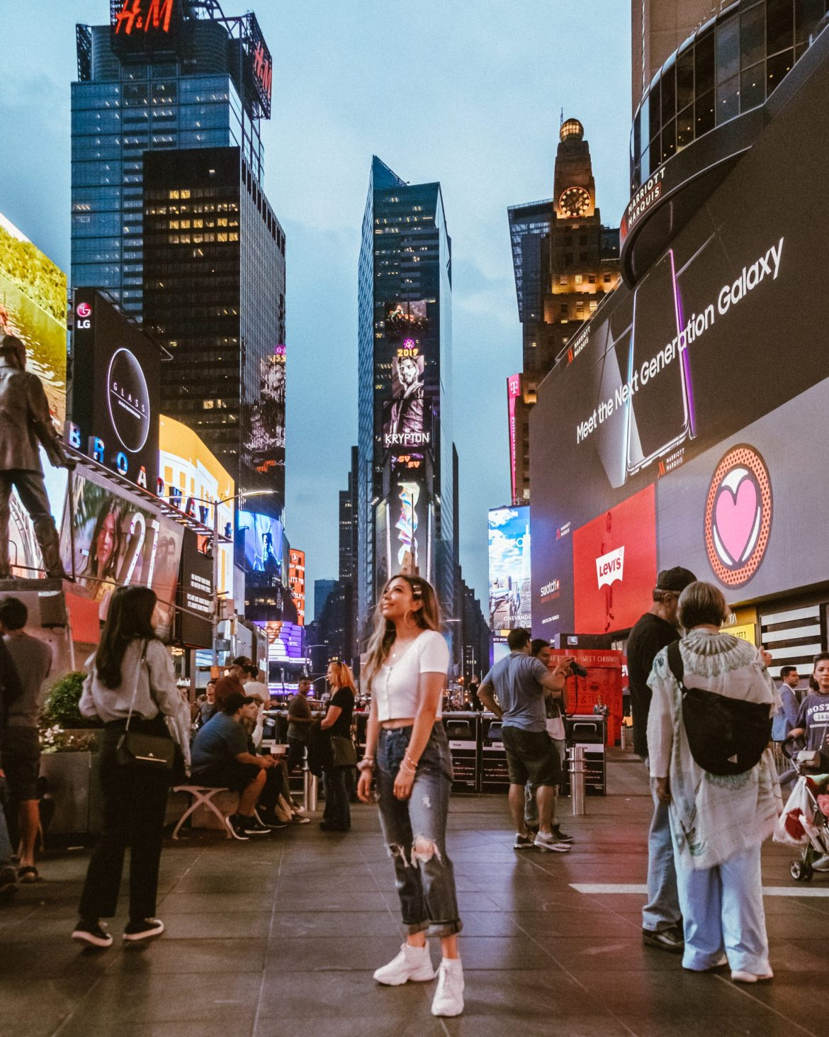 Instagrammable Spots in New York | Times Square