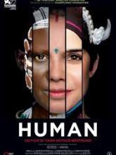 affiche film Human visage féminin