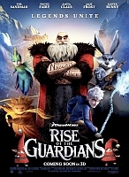 Film Review: 'Rise of the Guardians'