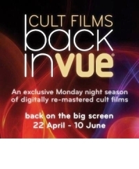 Competition: Win 'Back in Vue' cult film tickets *closed*