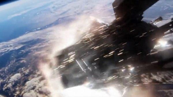 Donc là, dans le vaisseau, on flotte. - capture d'image The CW