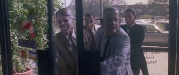 Jimmy, Lyndon, Richard et Ronald vont à la banque. - capture Twentieth Century Fox