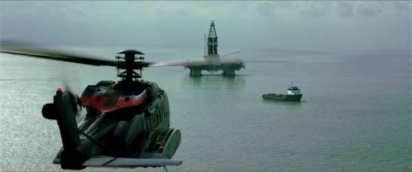 Arrivée sur Deepwater Horizon. - capture de la bande-annonce