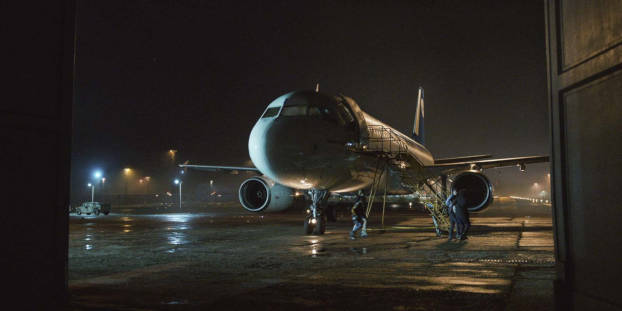 Ravitaillement de l'Airbus A320 d'Into the night