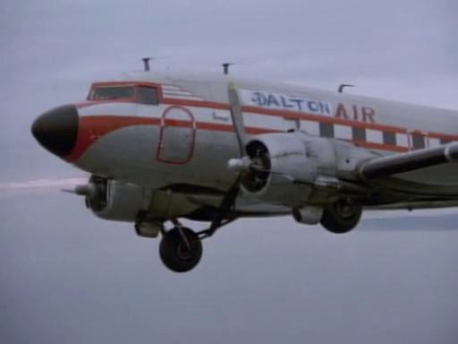 Le DC-3 de Jack Dalton en panne