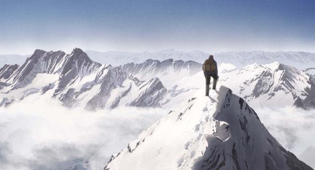 Seul au sommet