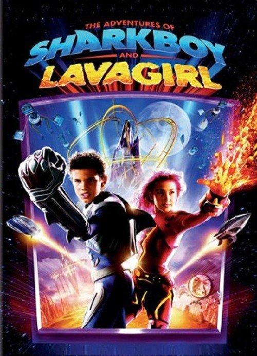 På äventyr med Shark Boy & Lava Girl