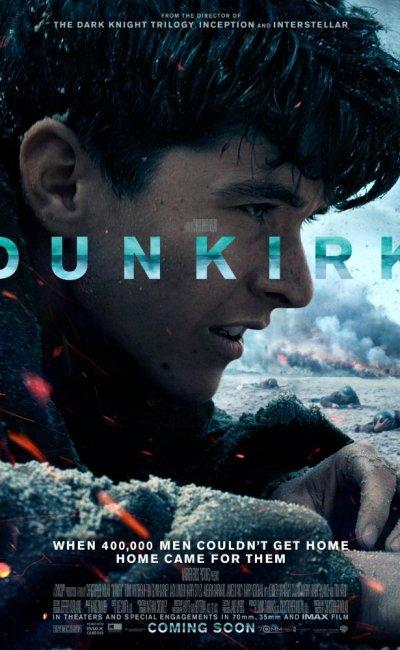 Dunkerque es una película bélica sobre la evacuación de Dunkerque (Francia), durante la II Guerra Mundial (1939-1945). En 1940, ante el avance de las tropas nazis, más de 300.000 soldados fueron evacuados a Gran Bretaña desde las costas francesas, en todo tipo de embarcaciones.