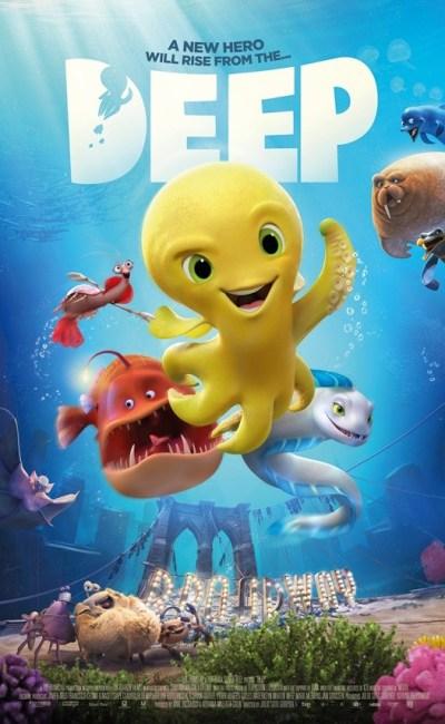 En Deep El Pulpo (Deep), en un futuro no muy lejano, los últimos supervivientes del planeta -un excéntrico grupo de criaturas abisales- tienen su hogar en la grieta más profunda de los océanos, protegidos por el mítico Kraken.