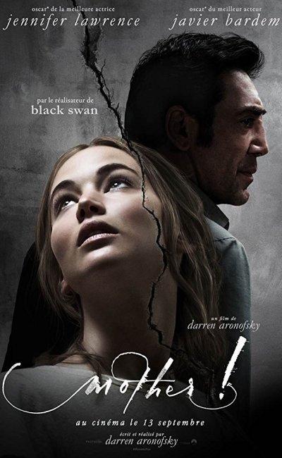 ¡Madre! es una película de drama y terror que cuenta la historia de un poeta en horas bajas (Javier Bardem) y de su joven esposa (Jennifer Lawrence) que viven en una vieja casa de campo aislada.