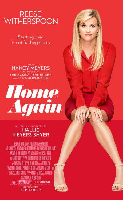 En Mi Nueva Yo (Home Again), Alice (Reese Witherspoon), recientemente separada de su marido, decide empezar de nuevo regresando a su ciudad natal en Los Angeles con sus dos hijas.