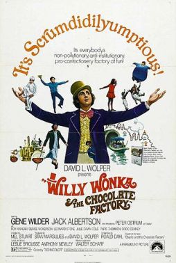 Cartel del film Willy Wonka and the Chocolat Factory