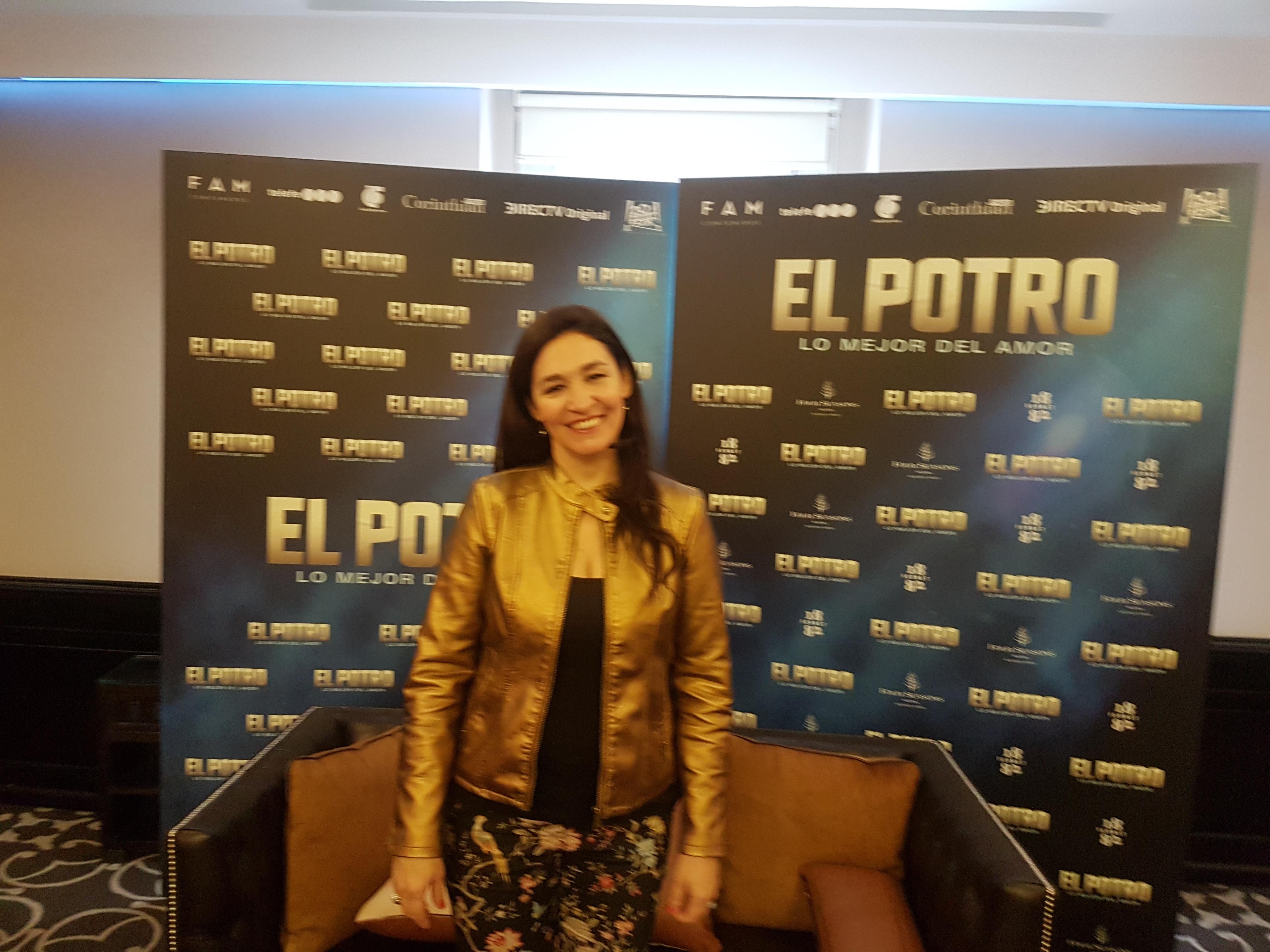 """Lorena Muñoz: """"El potro es una película industrial pero también es un film de autor"""""""