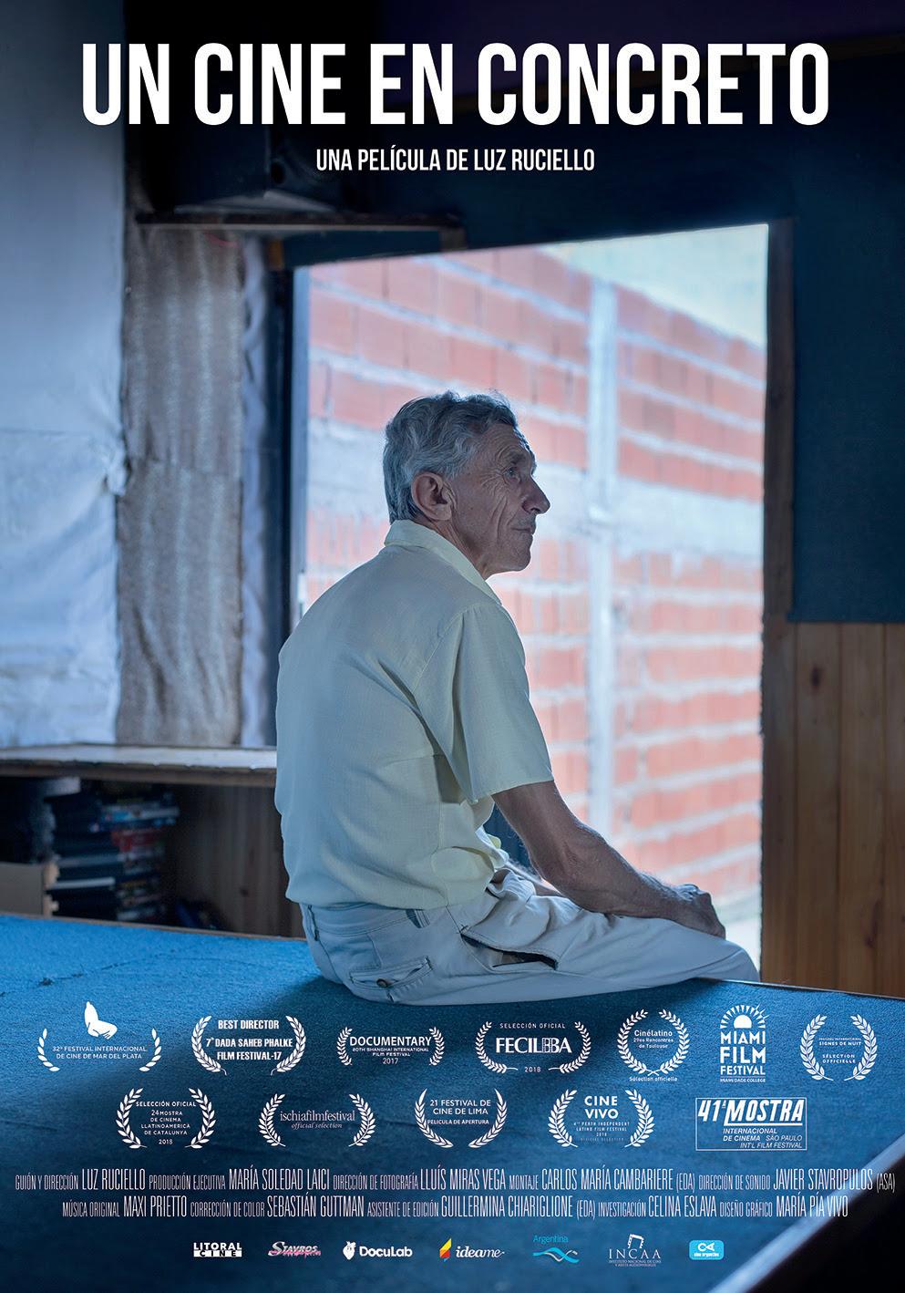 """Luz Ruciello: """"El Cine es un refugio de Omar para dar y recibir amor"""""""