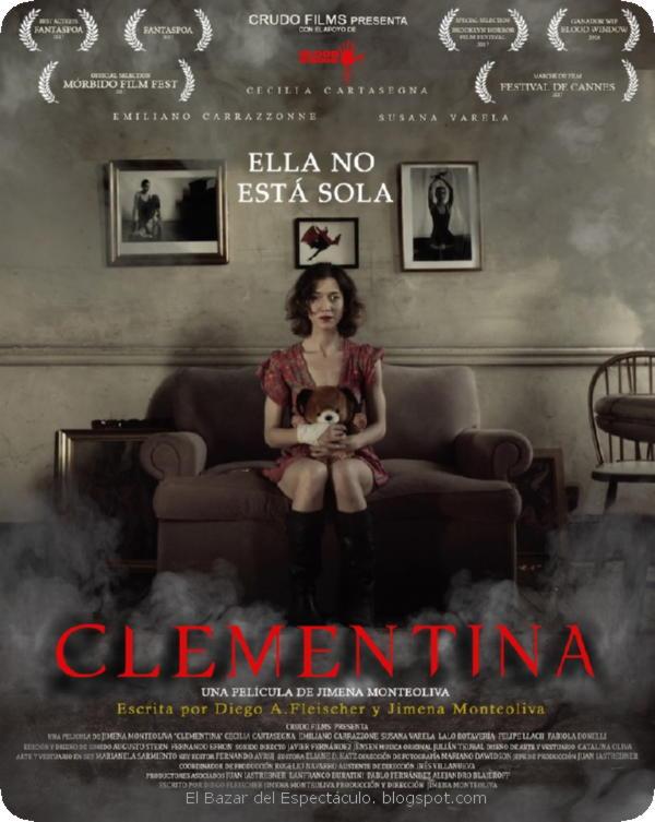 """Retrato de terror sobre la violencia de género. Crítica de """"Clementina"""" de Jimena Monteoliva"""