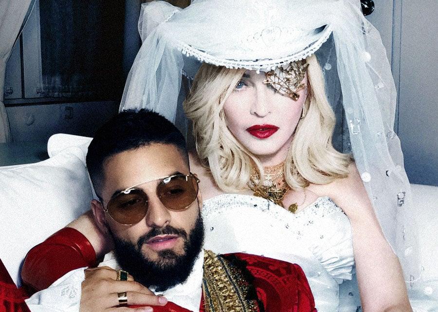 Maluma et Madonna - Photo d'Andy LECOMPTE