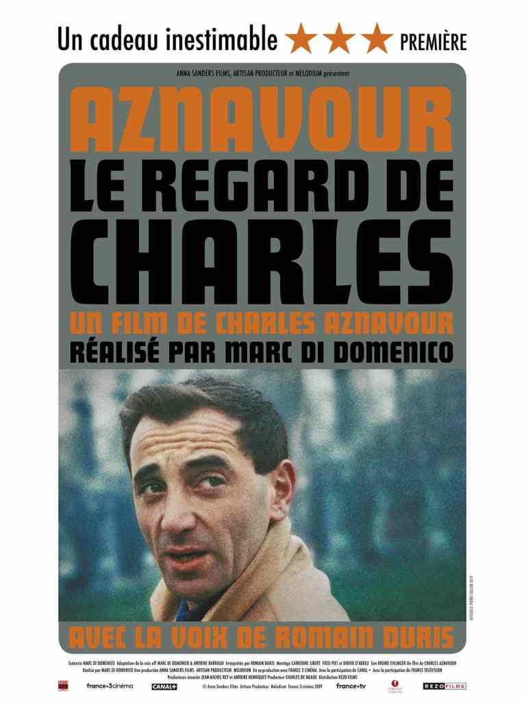 Affiche du documentaire Le regard de Charles