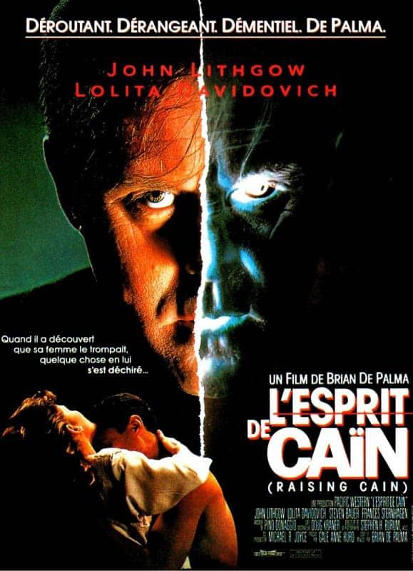 Affiche française de L'esprit de Caïn de Brian de Palma