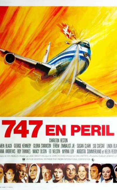 747 en péril, l'affiche