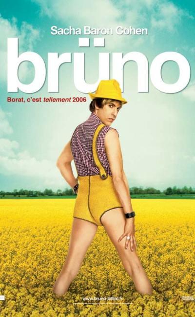 Brüno, l'affiche