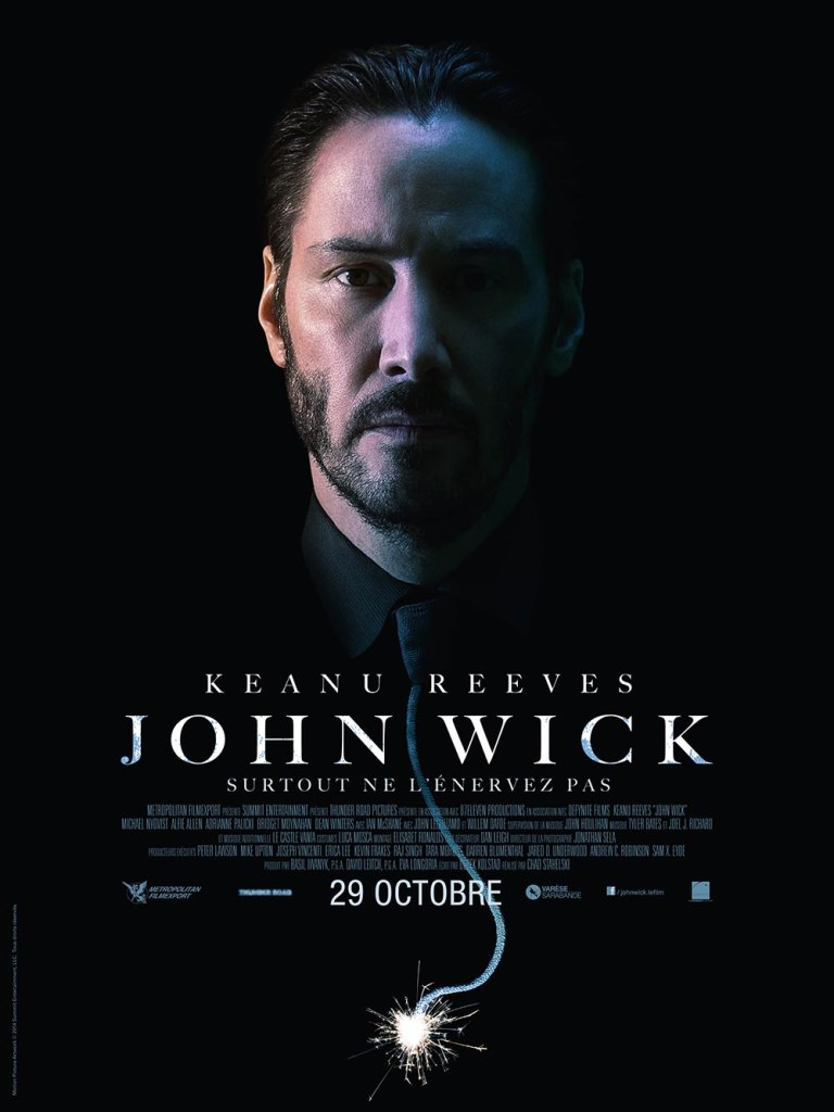 John Wick affiche alternative France