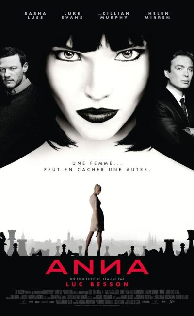 Affiche d'Anna de Luc Besson, définitive