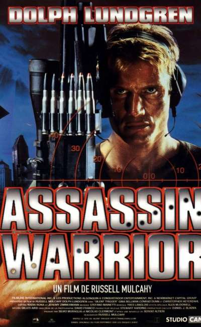 Assassin Warrior, jaquette DVD