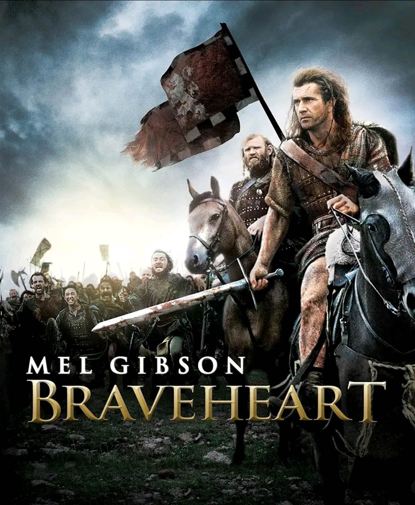 Braveheart, jaquette cover VOD