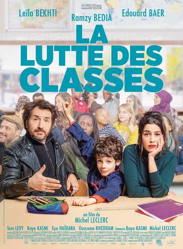 Affiche de La Lutte des classes de Michel Leclerc