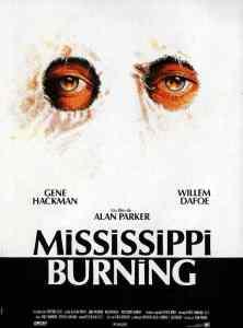 Mississipi Burning, affiche